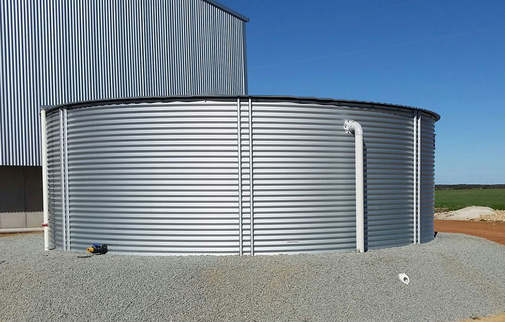 Build on Stite Rural Water Tank
