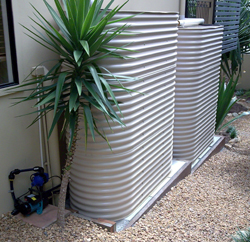 Slimline Water Tanks Installed in Brisbane