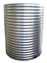 Round Stainless Steel Water Tank