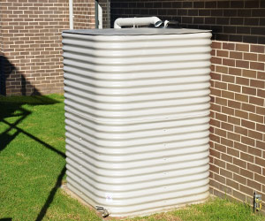 Square Colorbond Steel Water Tanks