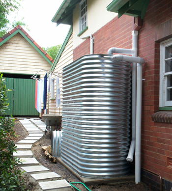 Sydney Steel Slimline Rainwater Tank