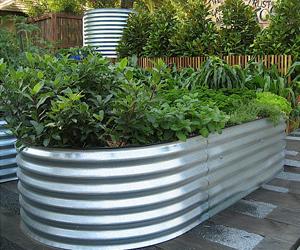 Installed Garden Bed