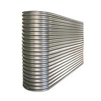 Slimline Stainless Steel Tank