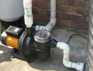 Connected Water Pump To Water Tank